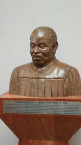 Judge John Scott Bust
